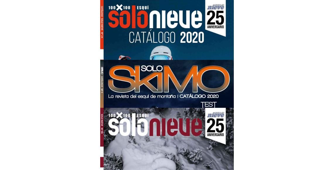 SOLO NIEVE + CATÁLOGO +  SOLO SKIMO