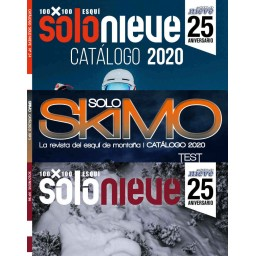 SOLO NIEVE + CATÁLOGO + SOLO SKIMO (suscripción)