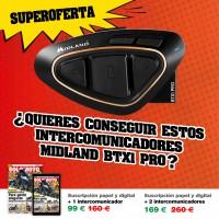 Suscripción SOLO MOTO  papel + digital + MIDLAND BTX1 PRO