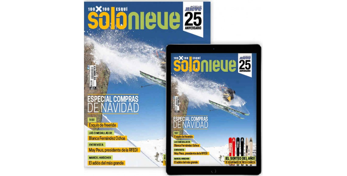 SOLO NIEVE+CATÁLOGO (suscripción papel + digital)